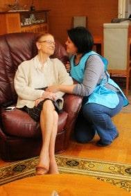 auxiliaire de vie personne âgée