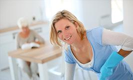 Aide ménagère aux personnes âgées