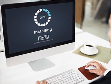 Installation à domicile de matériels et logiciels informatiques