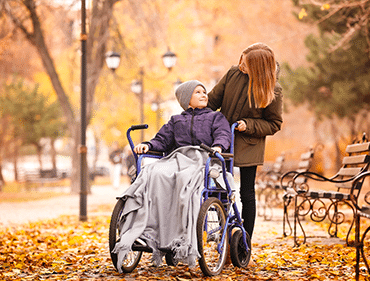 garde d'enfant handicap