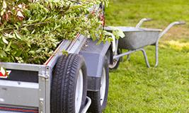 Ramassage et évacuation des déchets verts et encombrants