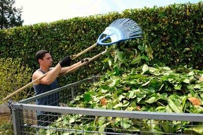 jardinier déchets verts