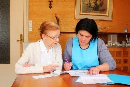 aide seniors administration