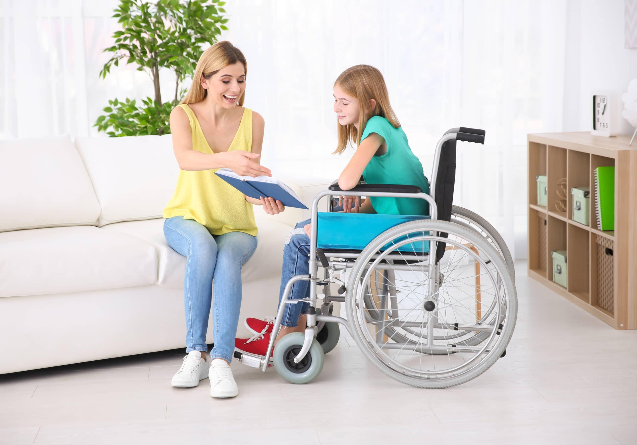 Garde et aide pour enfant en situation de handicap