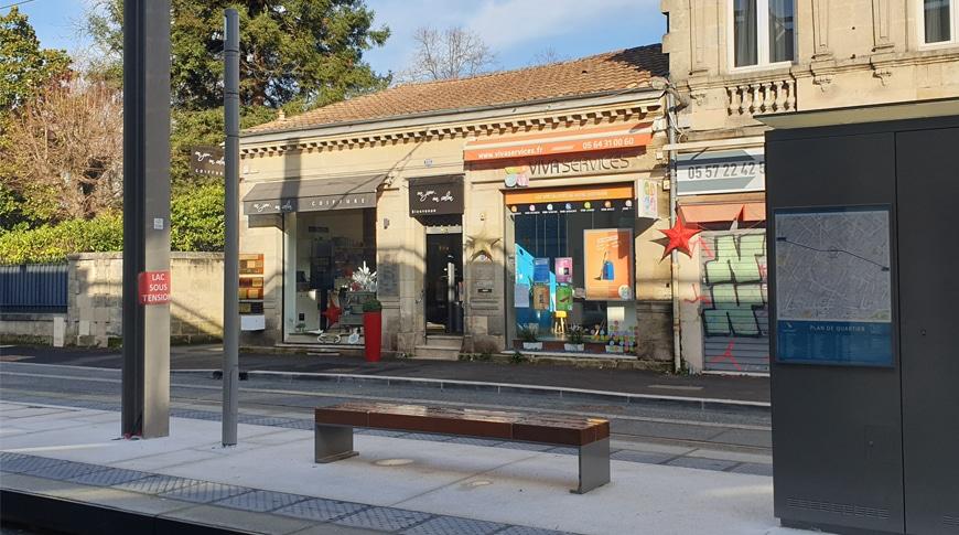 Votre agence Vivaservices Bordeaux au pied du tram !
