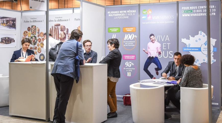 VIVASERVICES au Forum Franchise à Lyon en octobre 2018