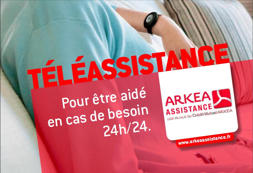La téléassistance ARKEA via VIVASERVICES