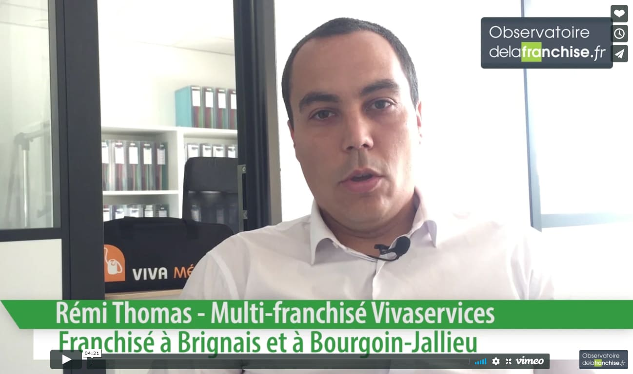 VIVASERVICES Interview dans l'observatoire de la franchise