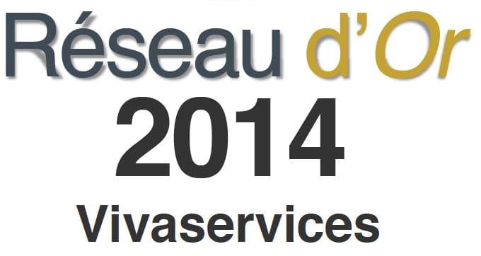 Vivaservices, élu Réseau d'or 2014