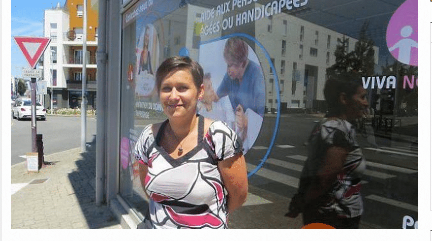 Portrait d'Alexandra Robert, gérante agence Nantes Sud
