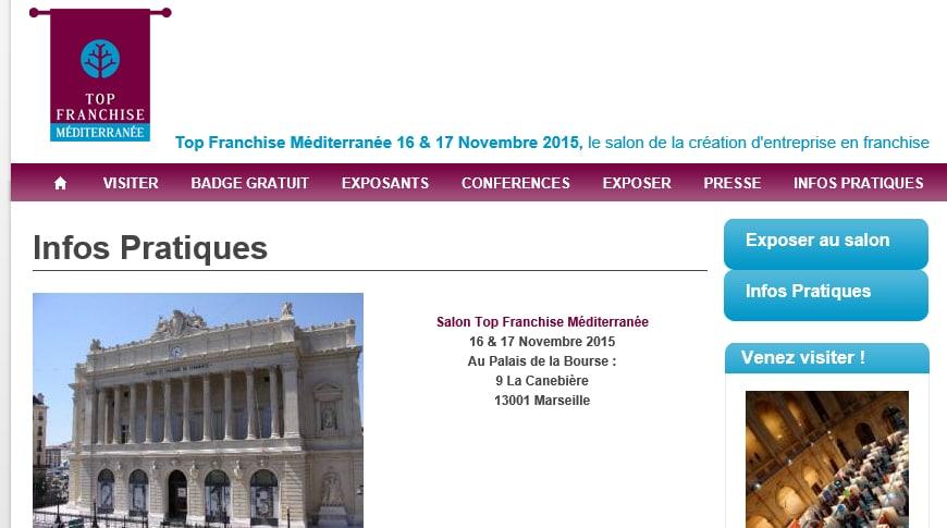 Top Franchise Méditerranée, 16 et 17 nov
