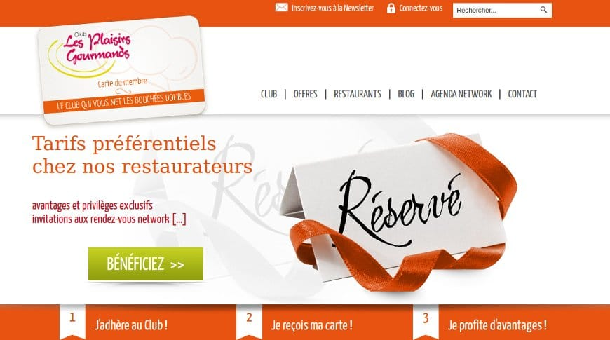 Vivaservices au club gourmand