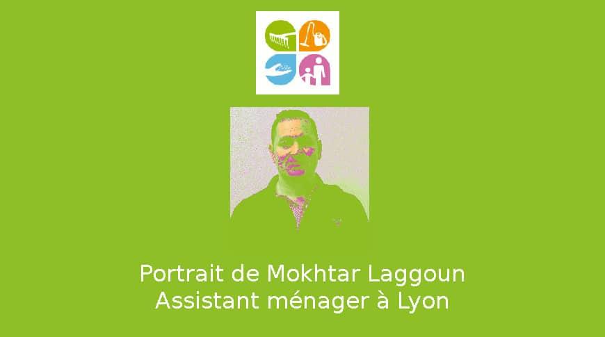 Mokhtar, Assistant de ménage à Lyon
