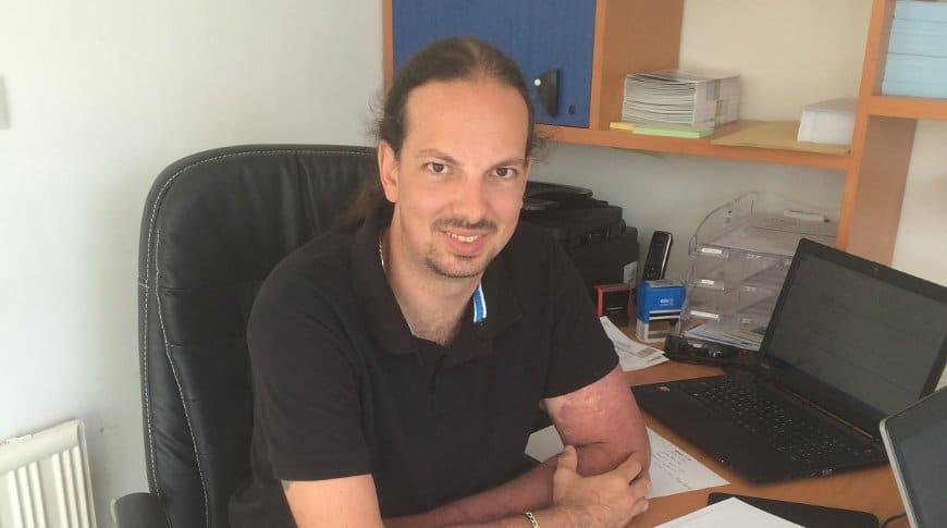 Loïc Rotureau ouvre son agence sur la Côte Basque