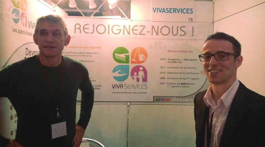 VIVASERVICES au salon Top Franchise à Marseille 11/2014